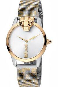 Just-Cavalli-jc1l057m0295-jc-shine-armbanduhr-damenuhr-meshband-zweifarbig-neu