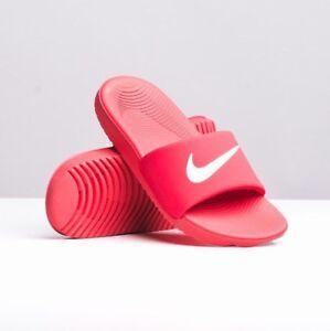 best sneakers b0eae cba10 ... Nike-Junior-Kawa-Curseur-Coulissant-Tongs-a-Enfiler-