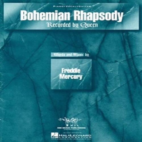 Bohemian Rhapsody Queen Sheet Music Song Piano Vocal Guitar 9781495087523