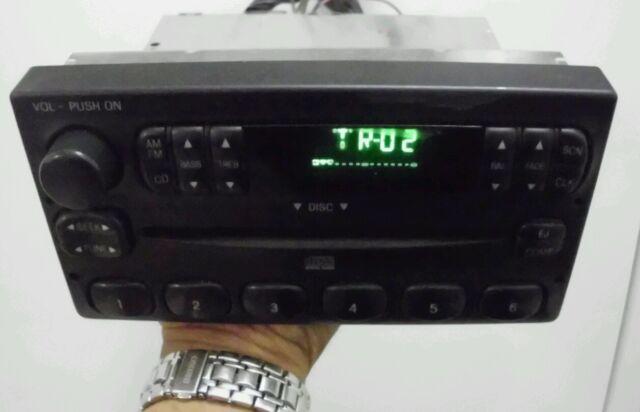 Ford Oem Single Cd Radio Ranger Explorer F150 Premium Audio System Rhebay: 97 F150 Audio System At Gmaili.net