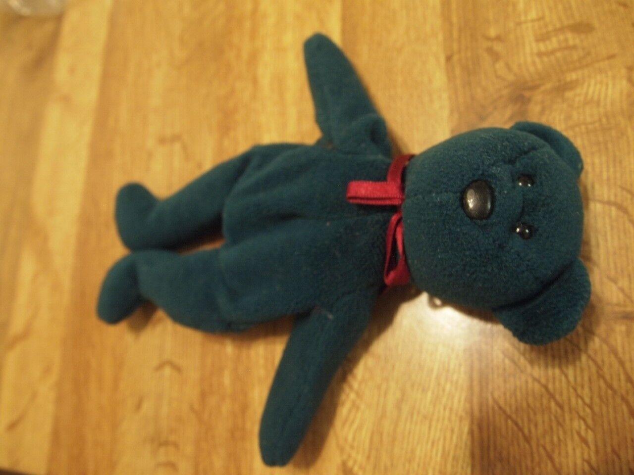 Mjuka gröna Teddy Beanie bebis
