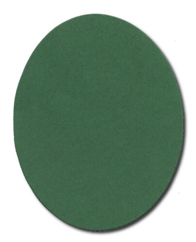 6 Die cut Extra Large Oval background mount accucut assorted colours 25x19.5cm