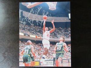 Glen Rice Autograph / Signed 8 x 10 Photo Miami Heat