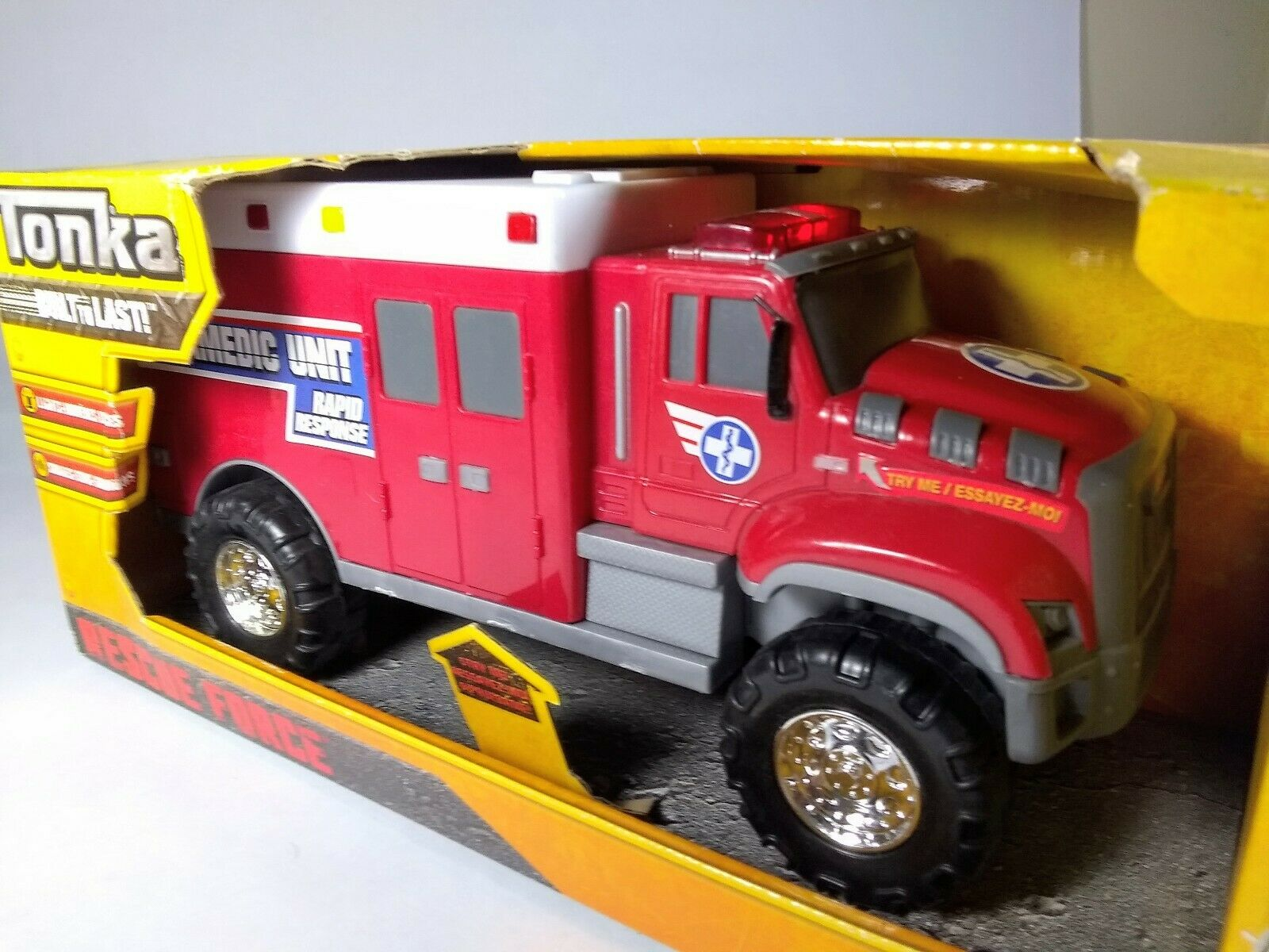Tonka Rescue Force Light /& Sound Assorted
