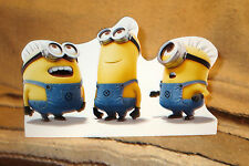 Minions Jerry,Jorge, and Tim Singing Figure Tabletop Display Standee 10.5 ' Long