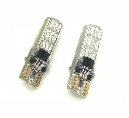 501 RGB Remote LED Interior Bulbs Lights For Audi Cars