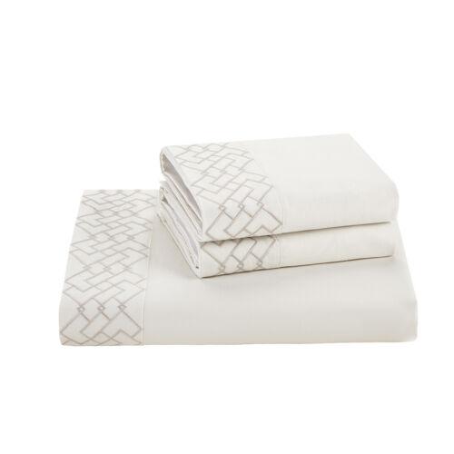 Natori Wisteria 620TC King Flat Sheet NA20-2851 white