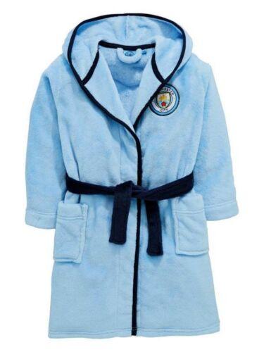Kids Man City Robe de chambre official merchandise QA806 à enfants de marque clothing