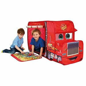 DISNEY CARS POP UP MACK TRUCK PLAY TENT WENDY HOUSE OFFICIAL