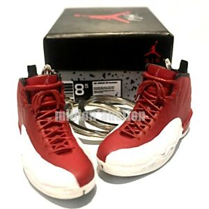 new product b359a 42fb7 Image is loading AIR-JORDAN-XII-12-RETRO-GYM-RED-WHITE-