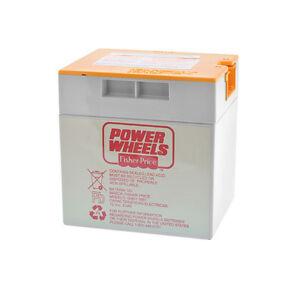 Power Wheels 12v Battery Probe Style Orange Top Sla 12v