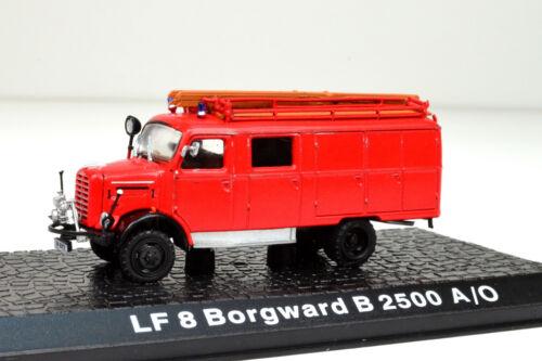 LF 8 Borgward B 2500 A//O Maßstab 1:72  Feuerwehr von Atlas