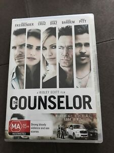 THE-COUNSELOR-THRILLER-DVD-R4-FREE-POST-MICHAEL-FASSBENDER