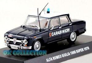 1972 /_ 04 1:43 Carabinieri // Military ALFA ROMEO ALFETTA