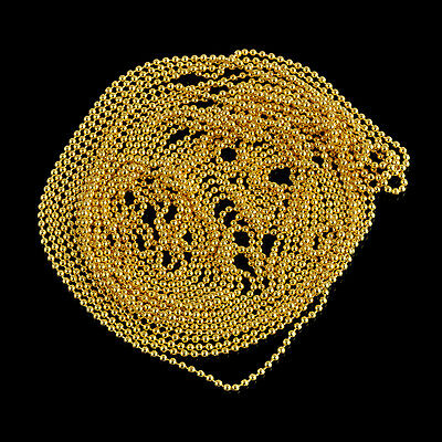 Ball Beads Chain Metal Glitter Strip 3M Tape Decorations 3D Nail Art Design Tip