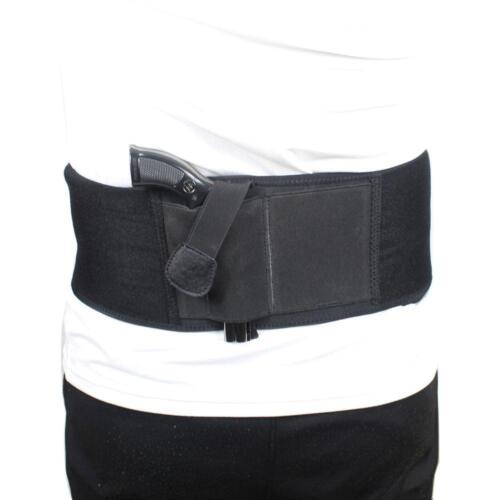 New Ultimate Belly Band Holster f Concealed Carry Fits Gun Glock P238 Ruger LCP