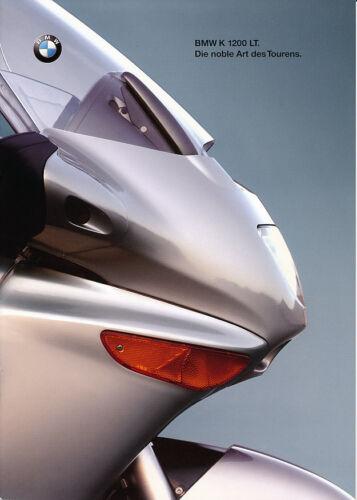 tedesco-NL-commercio di spedizione 08//1998 BMW-K 1200 LT-PROSPETTO