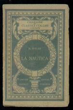 BALDI BERNARDINO LA NAUTICA UTET 1915 CLASSICI ITALIANI 11