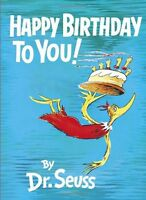 Happy Birthday To You By Dr. Seuss, Hardcover, 1959, New, Free Shipping on sale