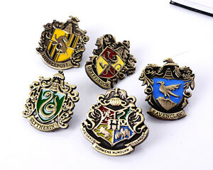 SPILLA HARRY POTTER PIN PINS BADGE HOGWARTS CASATE CASE HOUSE CINEMA COSPLAY #1