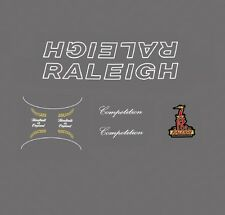 Raleigh Competition Bicycle Decals, Transfers, Stickers n.120