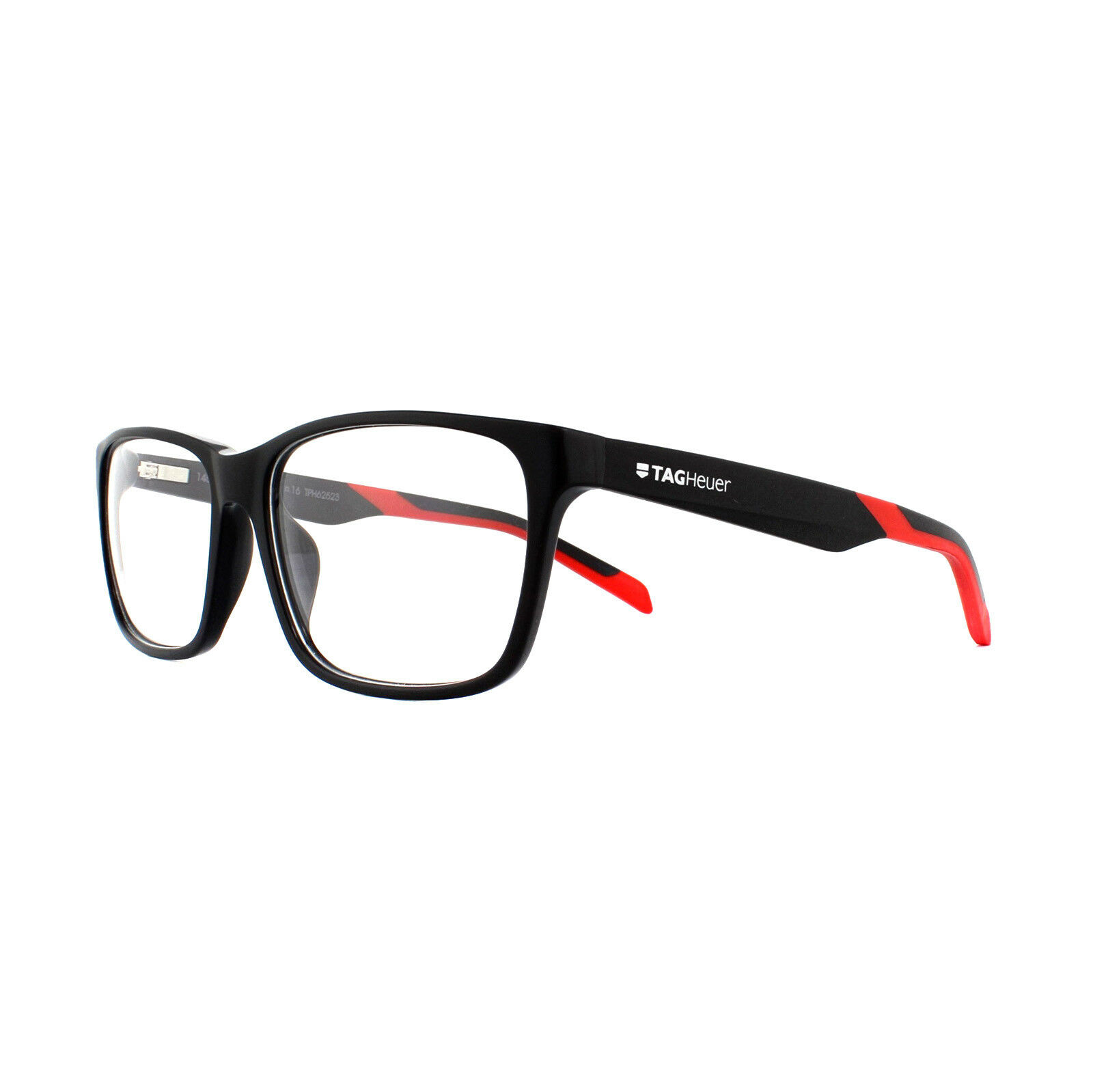 a413fcb681 Tag Heuer Glasses Frames B-urban Th0552 005 Black   Red for sale ...