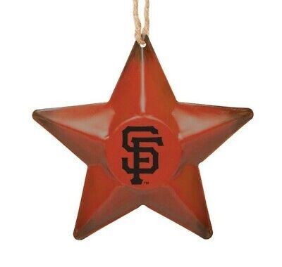 San Francisco Giants Christmas Tree Holiday Ornament New ...
