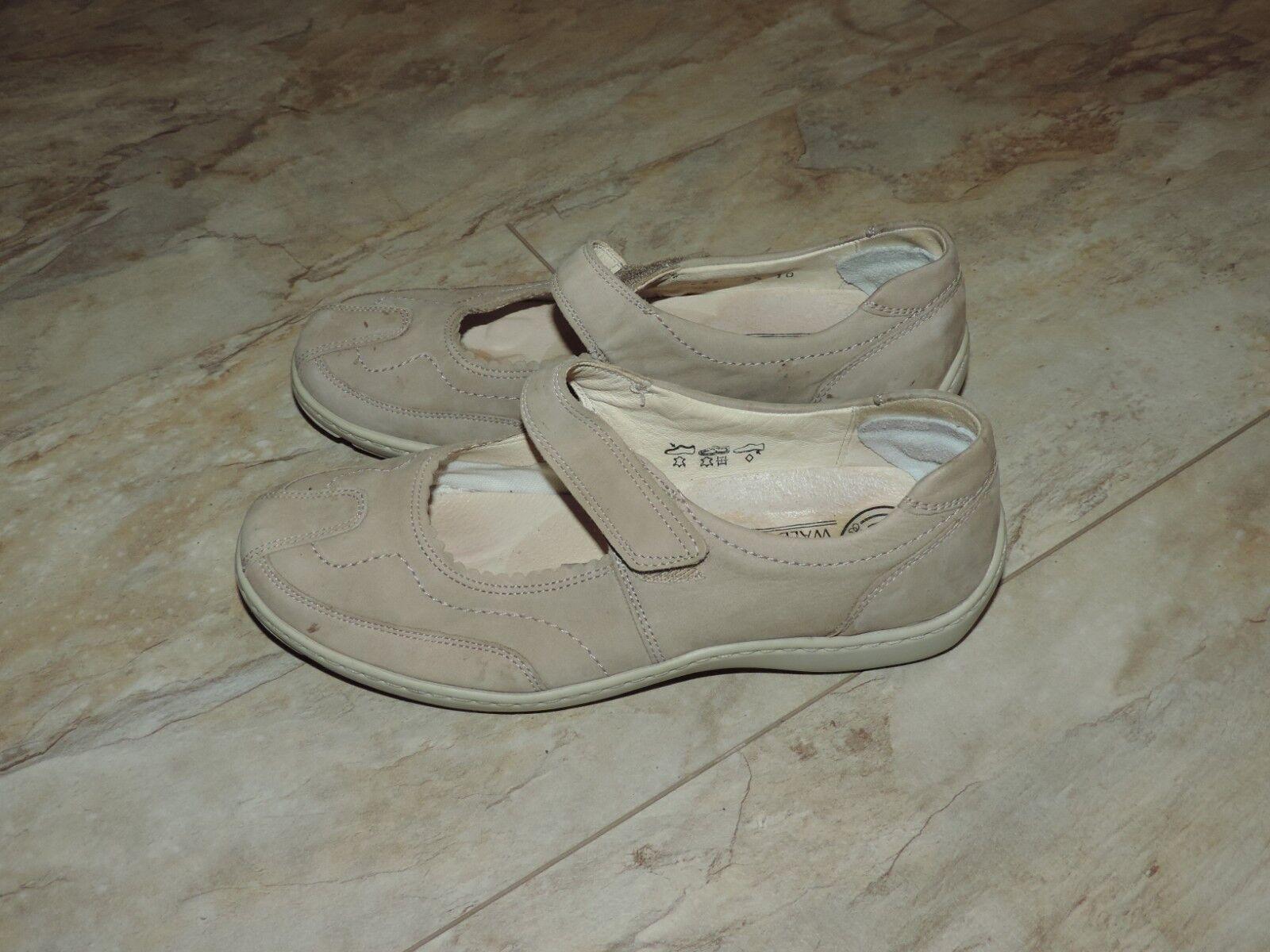Waldläufer Ballerinas Damenschuhe Sneaker, Leder, 5,5 Gr. 5,5 Leder, 144541