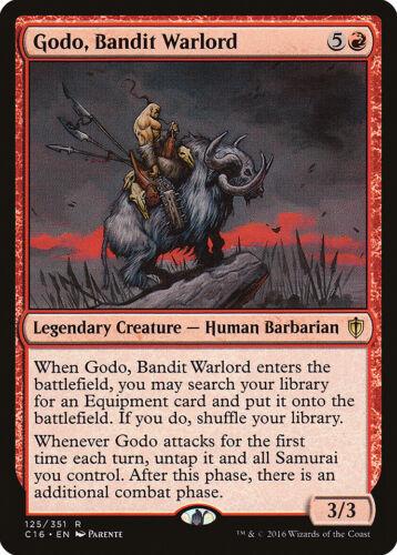 Bandit Warlord Commander 2016 NM Red Rare MAGIC GATHERING CARD ABUGames Godo