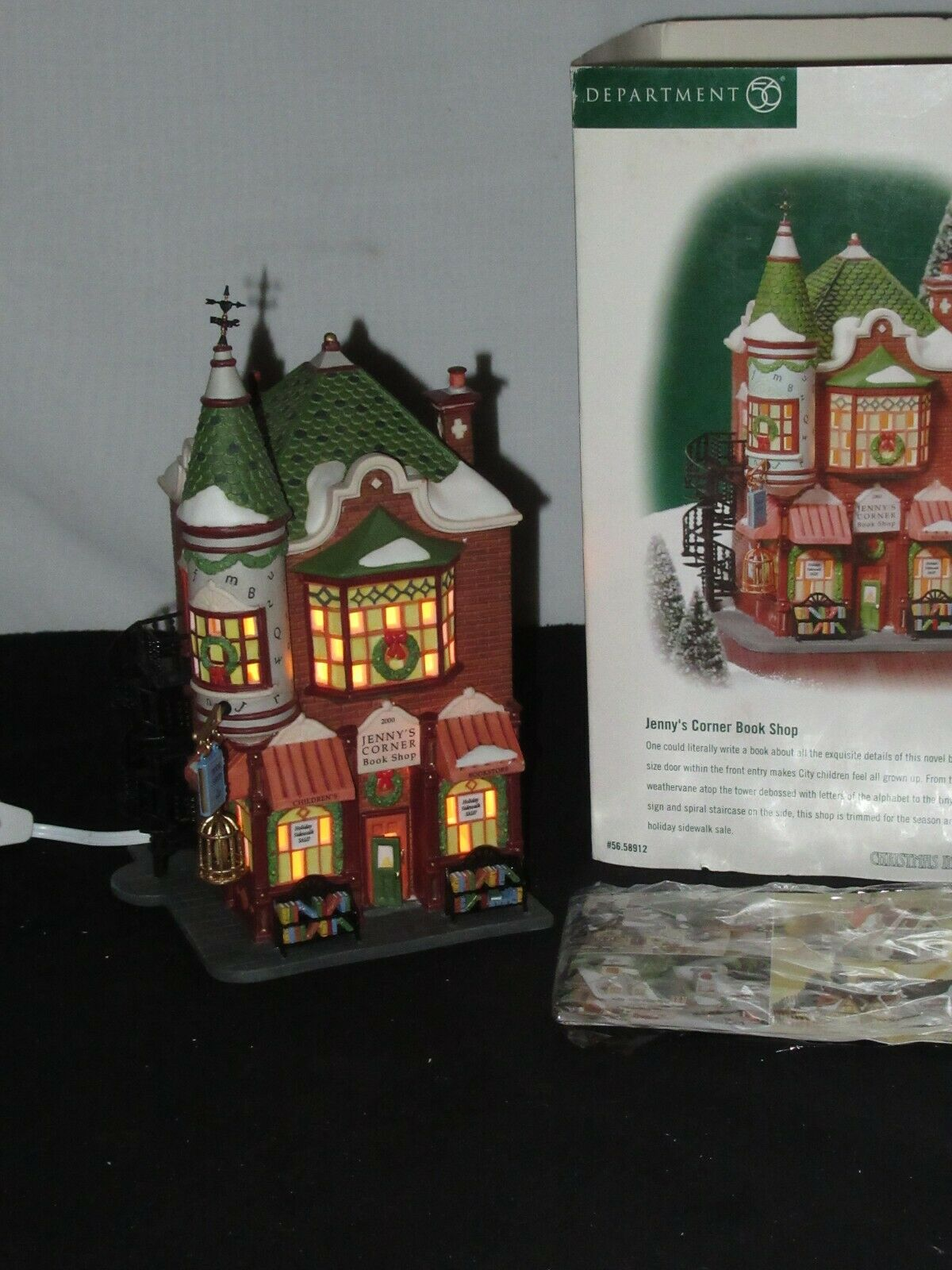 DEPT 56 CHRISTMAS IN THE CITY Accessory ALL IN TOGETHER GIRLS NIB