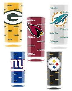 NFL-Football-Insulated-Square-Tumbler-16oz-Pick-Team-New-Design