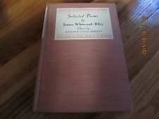 1931 SELECTED POEMS JAMES WHITCOMB RILEY William Lyons Phelps SIGNED HC/1ST ED