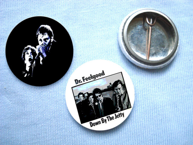Dr Feelgood- 2 Badge Set Wilko Johnson