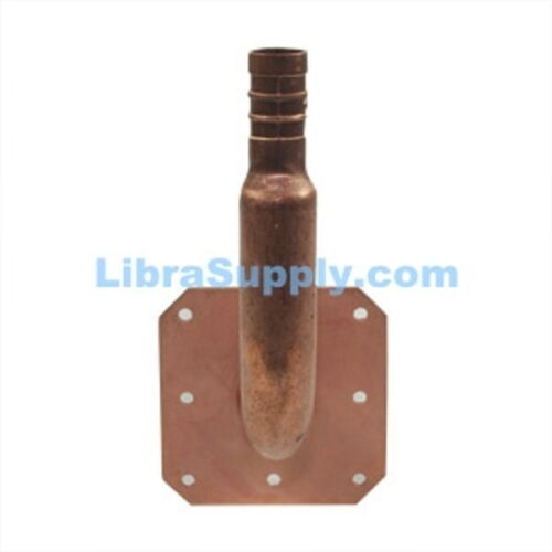 """Libra Supply 1//2 inch 1//2/"""" PEX Stub out Elbow 6 x 3/'/' inch with Nail Ear"""