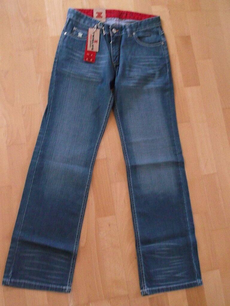 TWINLIFE  W28 L32  Stylische Jeans  Gerades Bein  Toller Style NEU   TLW01