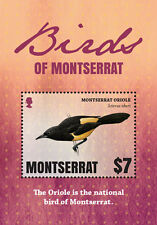 Montserrat -2016 Birds of Montserrat  Postal Stamps MNH