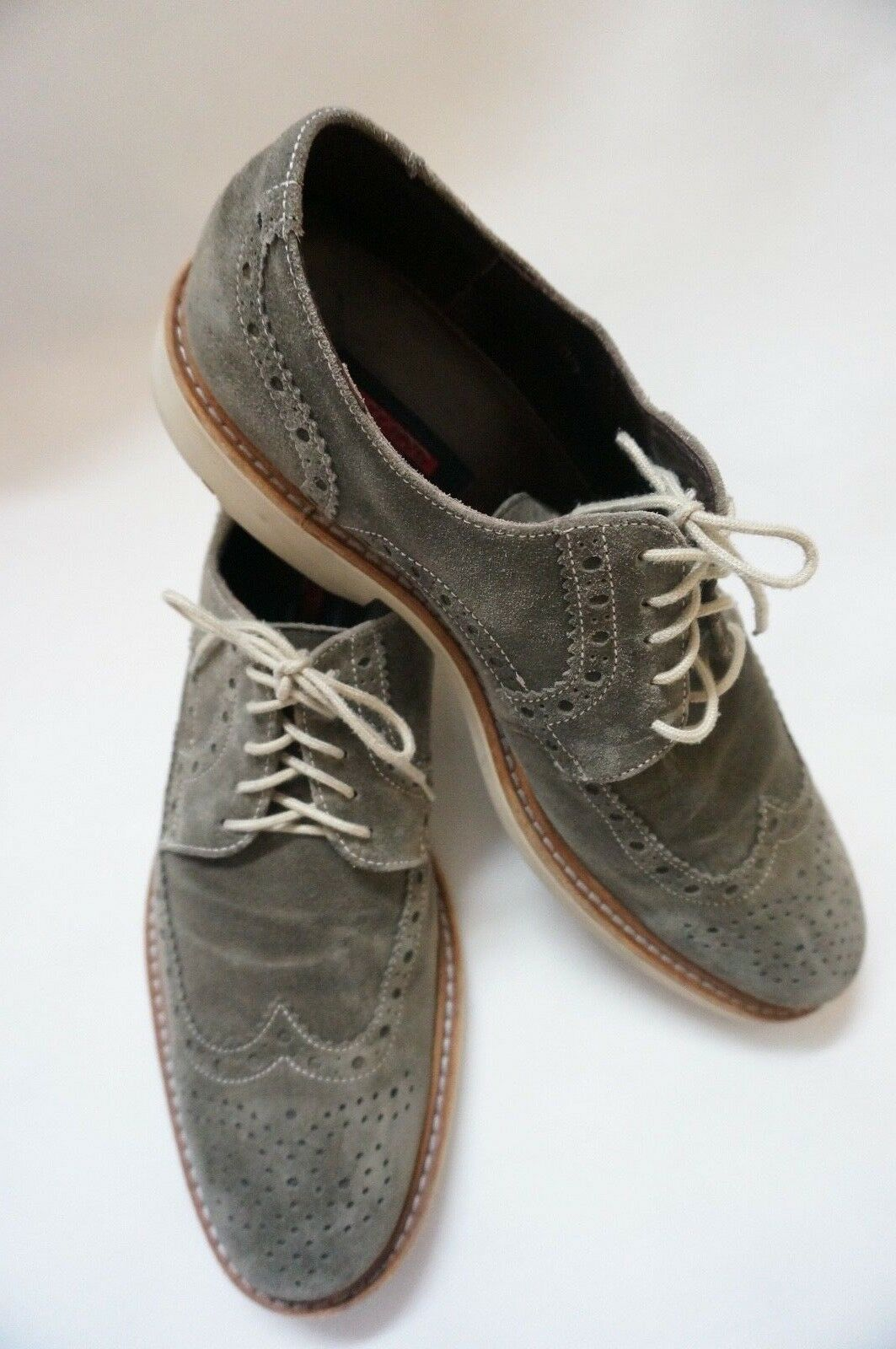 LLOYD Herren Schuhe Schnürschuhe Grau Größe : 44,5 / 10,5