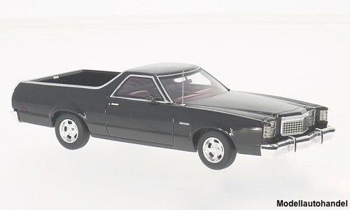 hasta un 60% de descuento Ford Ford Ford Ranchero negro 1979 1 43 neo 46885  forma única