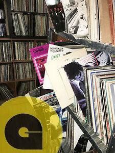 100-DISCHI-IN-VINILE-LP-Pop-Rock-Jazz-Soul-ITALIANI-E-INTERNAZIONALI-Lotto-Stock