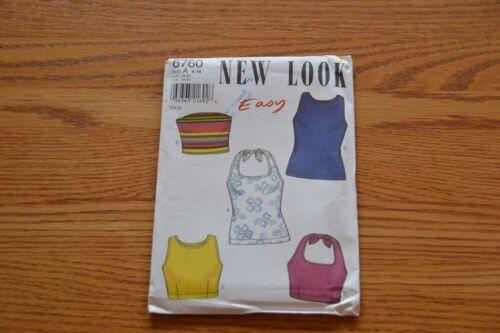 New Look Sewing Pattern Skirt Dress Halter Top Shirt Bags Totes Pant Jacket  OOP