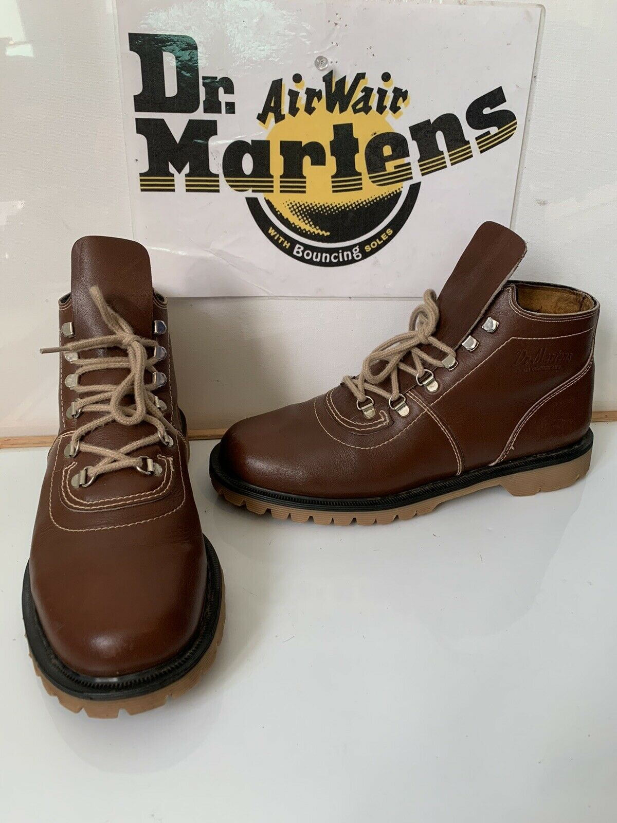 Dr. Martens Vintage Leather Boots Size UK 8 EU 42 Made in England