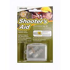 Shooters Aid Shotgun and Rifle Shooting Hearing/Ear Protection Sonic Plugs