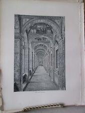 Vintage Print,THE LAGGIE,Rome,Francis Wey,1872