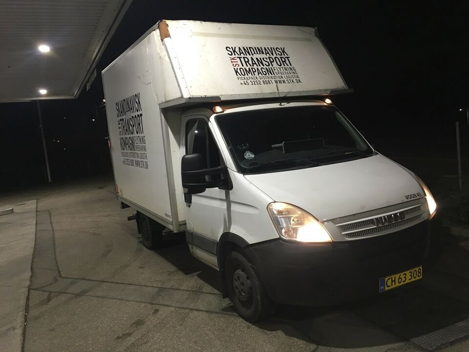 Iveco, Daily, 3,0 35S18 Alukasse m/lift