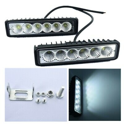 FLOOD BEAM Black Marine LED light LED T-Top Lights Boat Light IP67 18W 4 PACK