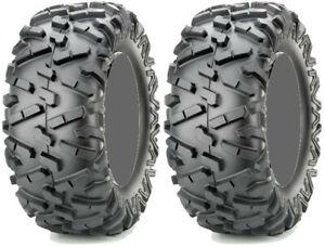 Pair 2 Maxxis Bighorn 2.0 29x9-14 ATV Tire Set 29x9x14 29-9-14
