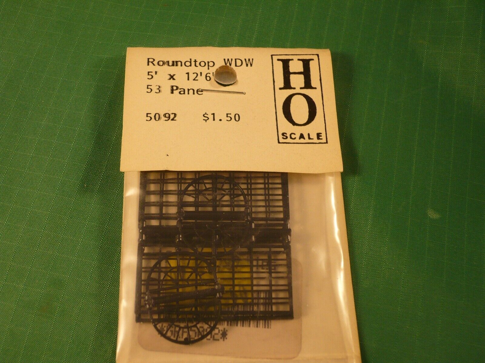 HO Scale GRANDT LINE 5154 MASONRY WINDOW  12 PACK