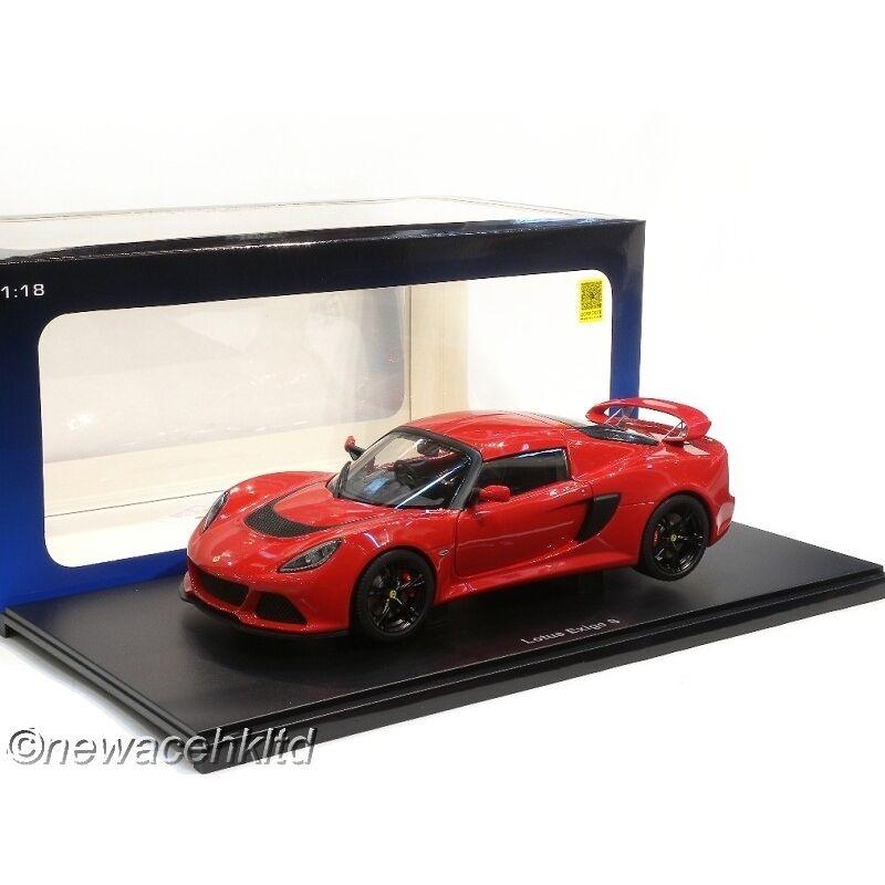 LOTUS EXIGE S  rosso  AUTOART MODEL 1/18  75381