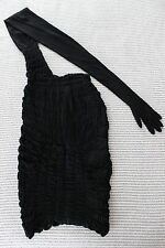 Very Rare Vintage 1989 Comme des Garcons Smocked Skirt with Gloved Sleeve