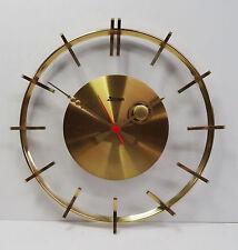 """mid century design 60s - Designer Uhr Wanduhr """" Kieninger """" Skelettuhr 60er 70er"""